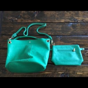 Bag with detachable insert